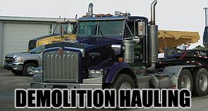 Demolition Hauling